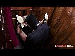 ConfessionFiles: Blonde Sucks Priests Dick
