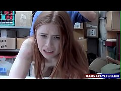 Teen Shoplyfter Stripped Naked...