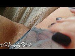 4K Masturbation and orgasm in lace panties