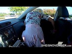 4k UHD Step Daughter In Car Seduces Step Dad Wi...