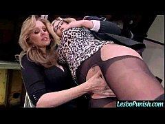 Lez Girls (julia&olivia) Get Sex Toys Punish Each Other video-22
