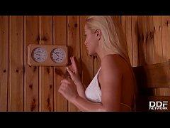 Serbian sauna lover Cherry...
