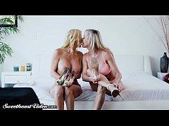 Brandi Love & Alexis Fawx Rim, Kiss and Lick Ea...