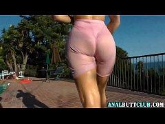 Big ass sluts strutting