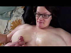 Bbw huge tit wife cumshot and creampie compilation 2
