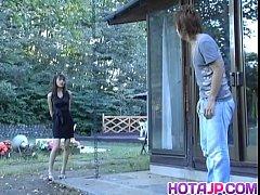Hijiri Kayama gets doggy...