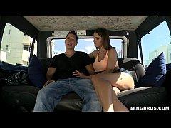 Pornstar Jennifer Dark on the Bangbus