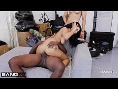 Katrina Jade on black monster cock