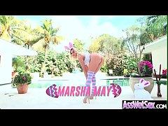Big Huge Oiled Ass Girl (Marsha May) Enjoy Hard Anal Sex video-25