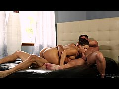 Stepdad and uncle got invited by Keisha Grey - ...