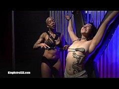 King Noire & Ashley Paige make Dragona Cum