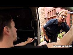 Latina officer caught on...