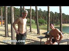GAYWIRE - Hot Gay Studs Marek and Rickyy Bareba...