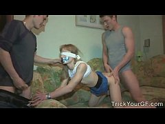 Blindfolded fun...