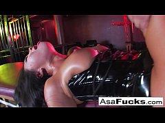 Sophia Santi Eats Asa Akira's Creampied Cunt
