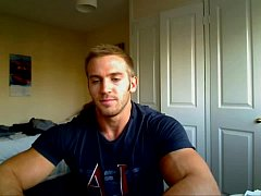 Adam Charlton shows off muscular body and small package in compression shorts - YouTube1