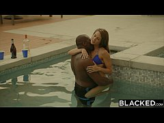 BLACKED First Interracial For...