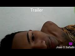 Trailer , comendo a novinha de ladinho com visi...