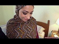Arab Woman In Hijab...
