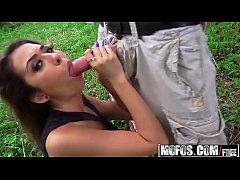 (Melissa Moore) - Tanning Teen Likes It Rough -...