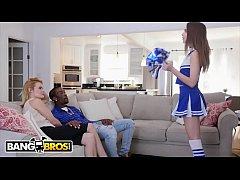 BANGBROS - Cheerleader Riley Reid Rides Her Mom...