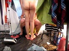 Sexe sous la tente