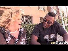 thumb cougar karen summer tries bbc first time