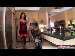 Twistys - (Megan Salinas) starring at Heating Up The Kitchen