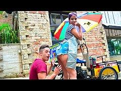 CARNE DEL MERCADO - Hot blowjob, fuck and facial with Latina babe Yamile Mil
