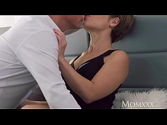 thumb mom intimate  lovers sensual creampie