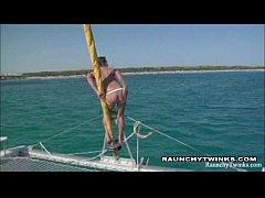 Sail Boat Horny Twinks...