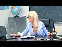 Brazzers - Big Tits at School - Highbrow Pussy scene starring Bridgette B and Bill Bailey