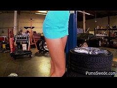 thumb big tit puma fucks mechanic to pay her bill