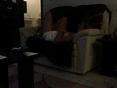 Sofa masturbation Mom caught...
