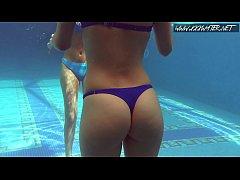 Mia Ferrari and Lina Mercury hot lesbos