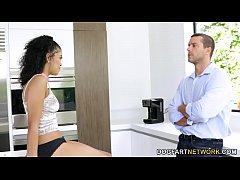 Ebony Jeni Angel Wants Her Friend's Dad's Cock
