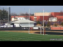 Athletic stud Steve Stiffer solo