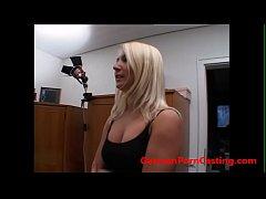 thumb amateur casting with a hot blonde slut   germanporncasting com