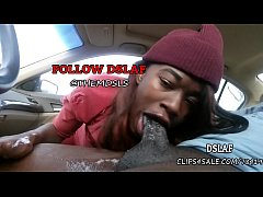 Jamaican Teen Giving Sloppy Head Blowjob In The...