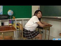 Yuri Hirayama busty schoolgirl...