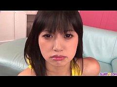 Sesual Kotomi Asakura sucks the cock like a real goddess