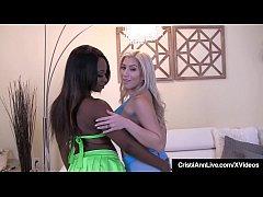 Asian Latina Cristi Ann & Ebony Skyler Nicole E...