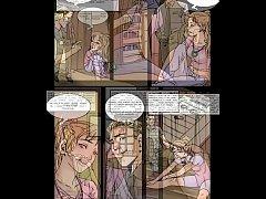 petite bailarina bondage slave girl bdsm quadrinhos e desenho