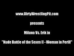 thumb nude battle of the sexes   woman in peril milana vs  erik