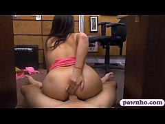Big juicy tits babe nailed by pawn man at the pawnshop