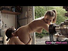 Girls Out West - Aussie lesbians in the garage