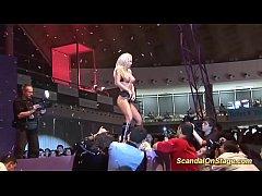 Extreme hot lapdance on...