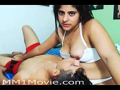Indian Girl Breastfeeding Her Boyfriend (MM1Mov...