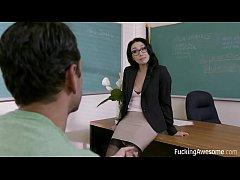 FuckingAwesome - Banging The Teacher - Vicki Chase
