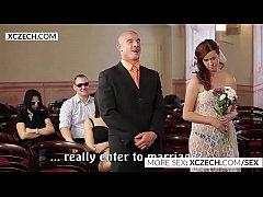 Crazy czech wedding orgy party - XCZECH.com